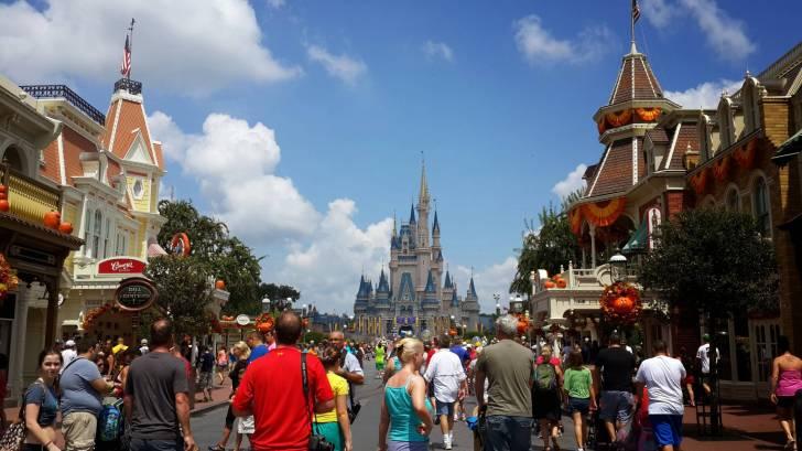 Disney crowds