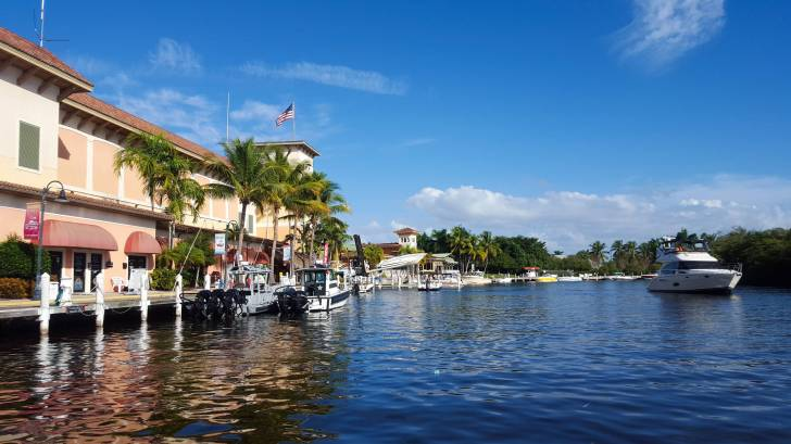 Florida coast waterway