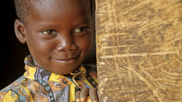 young boy in ghana