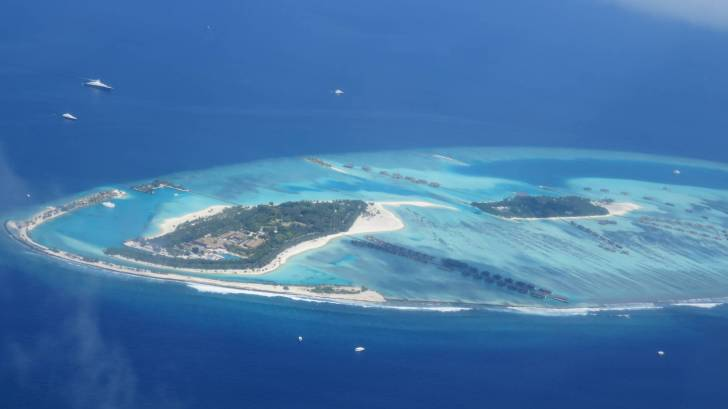 maldives in the indian ocean