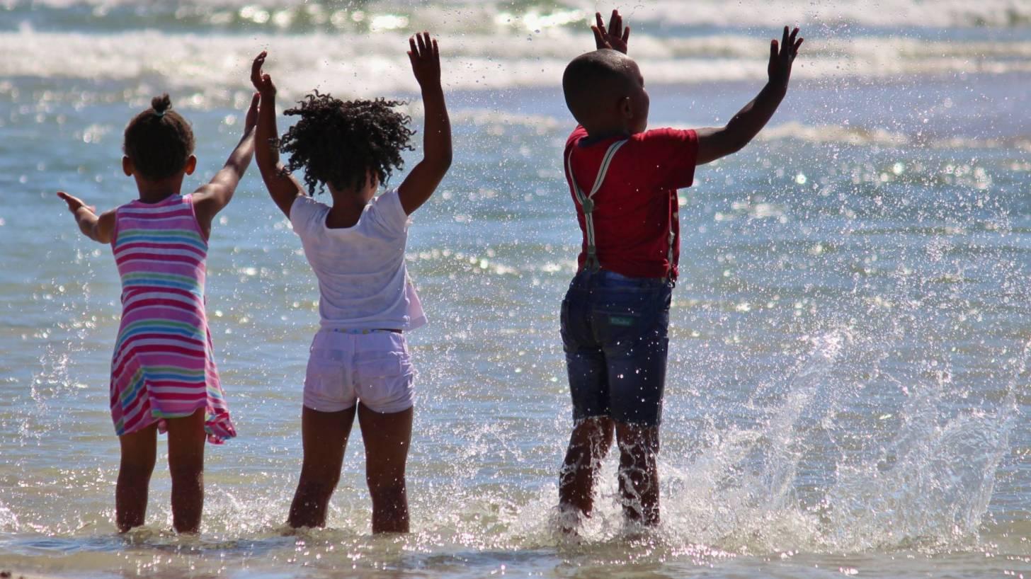 african children celebrating