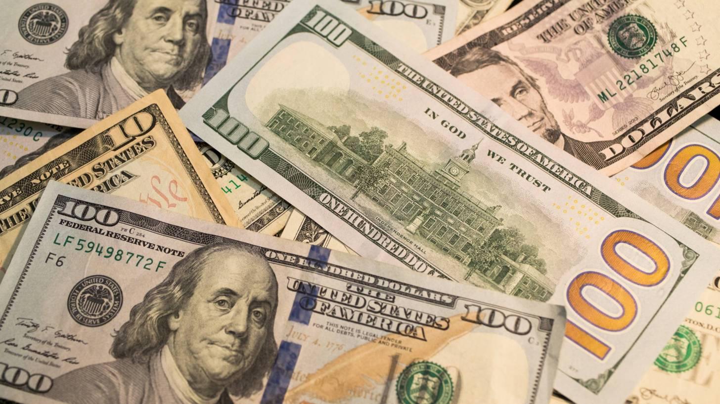 100$ bills