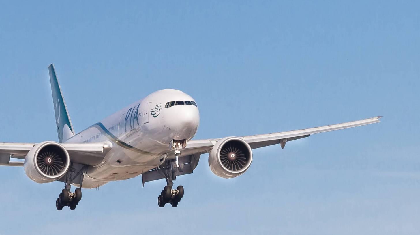 pia jet landing