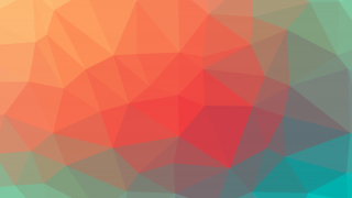 colorful abstract design with triangles
