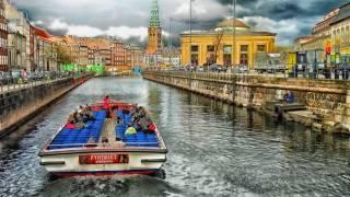 copenhagen denmark tour boat on the river