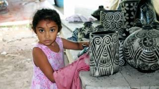 cute honduran little girl