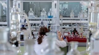medical lab worker