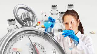 scientist testing different vaccines