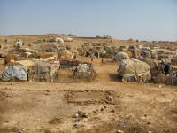 refugee camp in africa