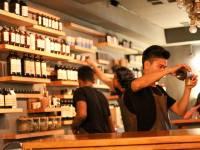 pharmacist mixing drugs