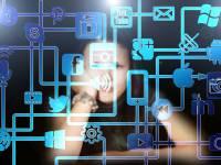 woman and social media